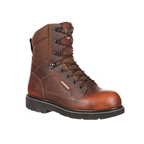Georgia Boot Mens 8 Glennville Composite Toe Waterproof Work Boot-GB00035 YrAgNQnU