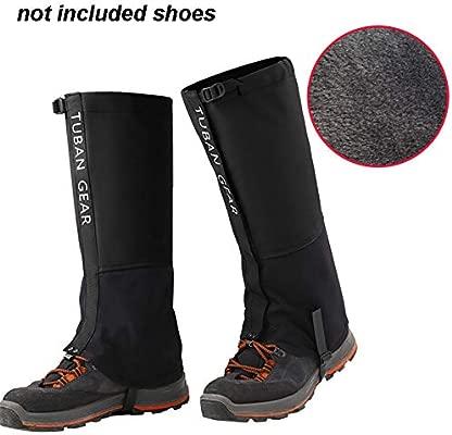 1 par de Raquetas de Nieve Caza Pesca para Caminar Polainas para Senderismo Recorte Impermeables Hierba Transpirables Polainas para Escalada al Aire Libre Cambano