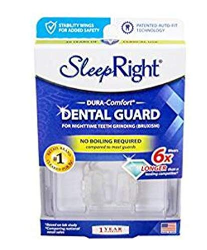SleepRight Dura-Comfort Dental Guard - Mouth Guard To Prevent Teeth Grinding