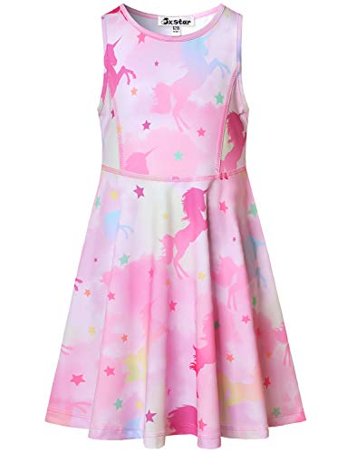 Unicorn Dresses for Girls 7-16 Birthday Party Gift Clothes Outfits