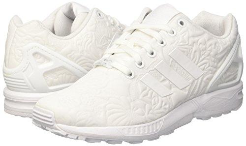 Blanc W Ftwr Flux Femme Blanc Gymnastique ZX Blanc adidas Core Ftwr