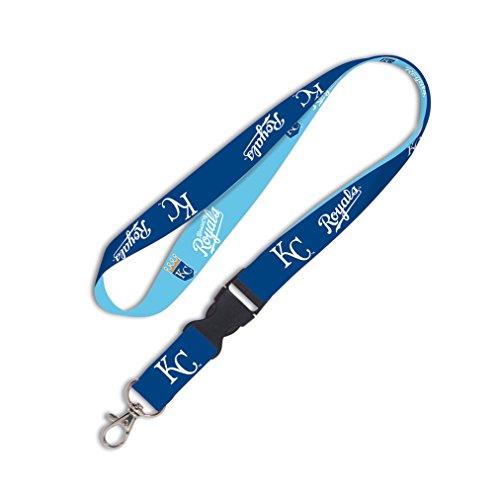 [MLB Kansas City Royals Lanyard with Detachable Buckle, 1-Inch] (Mlb Jewelry)