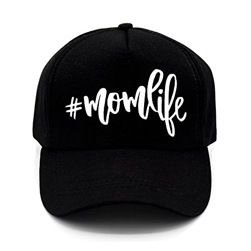 PumPumpz Personalized Mom Life #Momlife Style Trucker Hat Stylish for Moms. (Mom Lift White)