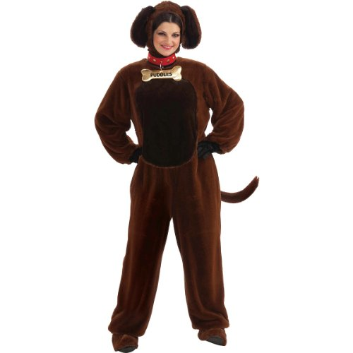 Forum Novelties Puddles The Puppy Costume, Brown, -