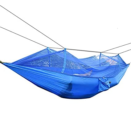 Lepakshi Portable Outdoor Camping Mosquito Net Nylon Hammock Hammock Sleeping Sw