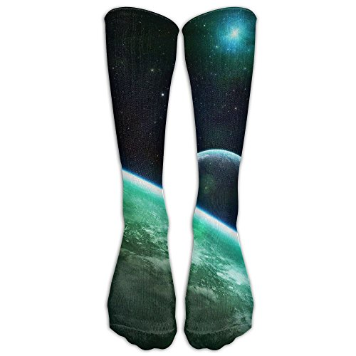 Futong Huaxia Green Celestial Body Mens Womens Funny Dress Athletic Work Long Knee High Stockings Tights One Size ()