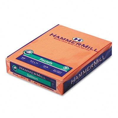 UPC 010199183255, Hammermill Paper, Pastels - Salmon, 20 lb., 8.5x11, Letter, 500 Sheets / 1 Ream, (18325-0)