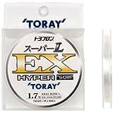 東レ(TORAY) ハリス トヨフロン スーパーL・EX ハイパー フロロカーボン 50m 1.7号 ナチュラル