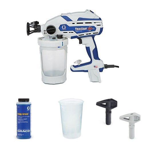 Graco TrueCoat 360 VSP Paint Sprayer Kit with Pump Armor, Paint Bags and  Tips