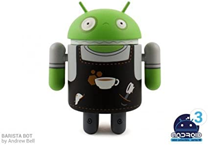 ANDROID STANDARD GREEN FULL CASE OF 16 VINYL TOY FIGURES ANDREW BELL