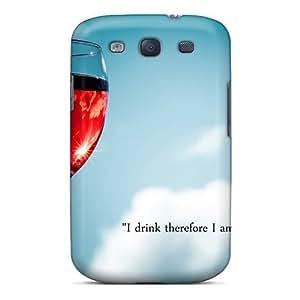 Cute Appearance Cover/tpu NOjJeYc5789LgZDB Drink Case For Galaxy S3