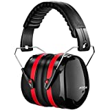 Mpow Shooting Ear muffs, SNR 34dB Safety Ear Muffs, Professional Hearing Protection, Folding Ear Muff Ear Defenders  for Shooting Range