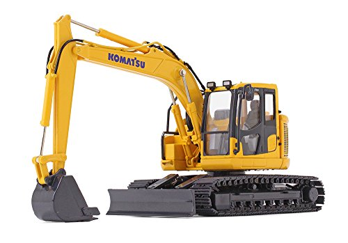 Excavator Diecast Collectible - First Gear 1/50 Scale Diecast Collectible Komatsu PC138USLC-11 Excavator (#50-3360)