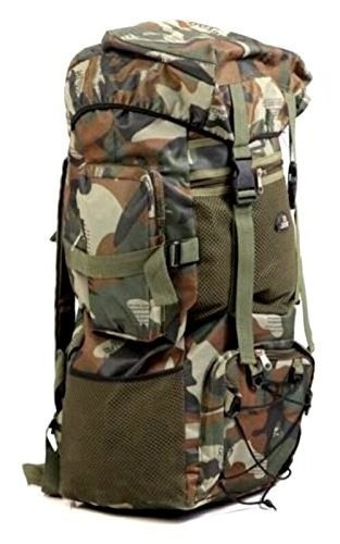 e7014ea8ab3e jungal 75 Ltr Military Green Rucksack  Amazon.in  Bags