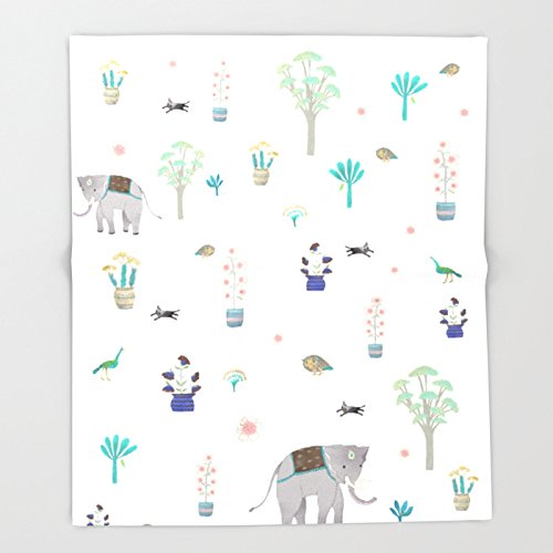 Society6 thai elephant Throw Blankets 88'' x 104'' Blanket by Society6