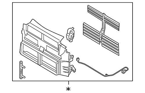 Amazon Autoparts Star Radiator Control Shutter Assembly Fits. Amazon Autoparts Star Radiator Control Shutter Assembly Fits Ford Automotive. Ford. Shutter 2014 Ford Focus Radiator Diagram At Scoala.co