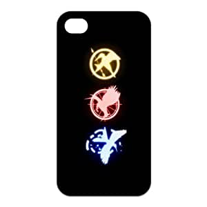 The Hunger Games Three Logo Unique Apple Iphone 4 4S Durable Hard Plastic Case Cover CustomDIY