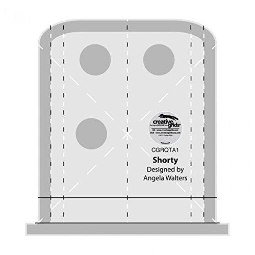 Creative Grids Machine Quilting Tool Ruler Template - Shorty CGRQTA1 4336997082