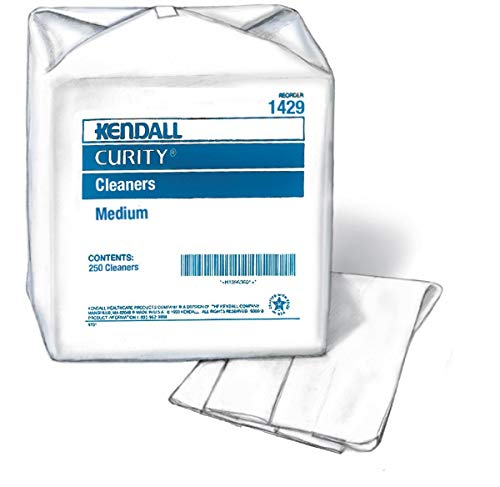 Covidien 1429 Curity Cleaners, Medium (Pack of 250)
