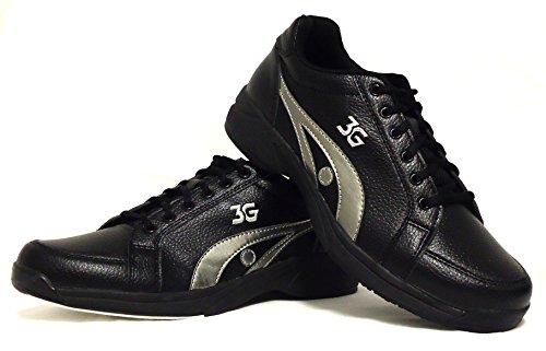 900 Wereldwijde Sluipt Unisex-bowlingschoenen Zwart / Grijs