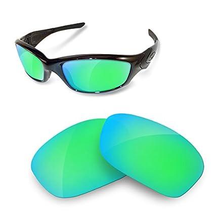 sunglasses restorer Lentes Polarizadas de Recambio Sapphire Green para Oakley Straight Jacket 2.0