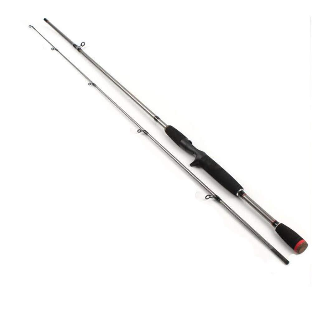 PinShang 釣り竿 - 1.8メートル 高強度ストレートハンドル ルアーロッド ファイバーグラス 釣り用シーロッド 旅行 サーフ用  spear handle B07K2Q4VT3