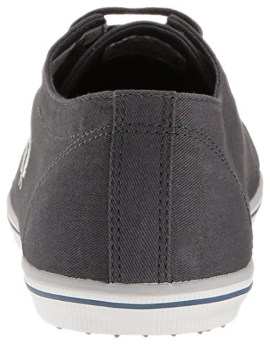 Fred Perry Kingston Twill Charcoal B6259U282, Turnschuhe
