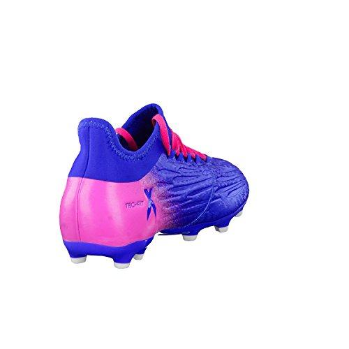 adidas X 16.1 Fg J, Botas de Fútbol para Niños blau / pink