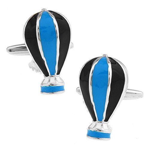 SS Albetro Hot Air Blue Balloon Cufflinks for men ()