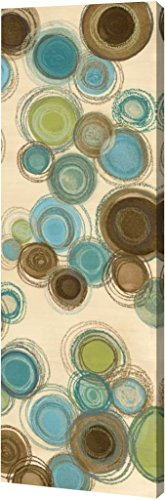 Jenis Print (Blue Whimsy Panel II by Jeni Lee - 13