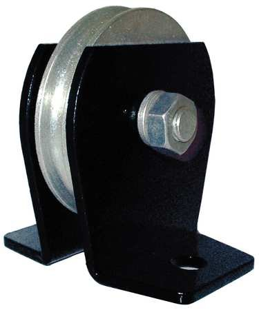 Pulley Block, Wire Rope, 2000 lb Load Cap.
