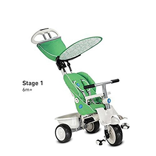 smart trike recliner 4 in 1 tricycle green buy online. Black Bedroom Furniture Sets. Home Design Ideas