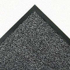 Scraper Wiper Indoor Mat (Crown Cross-Over Indoor/Outdoor Wiper/Scraper Mat, Olefin/Poly, 48 x 72, Gray)