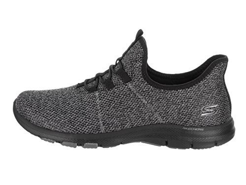 Casual On Galaxies Air Black Women's Skechers Shoe xvTIwaq
