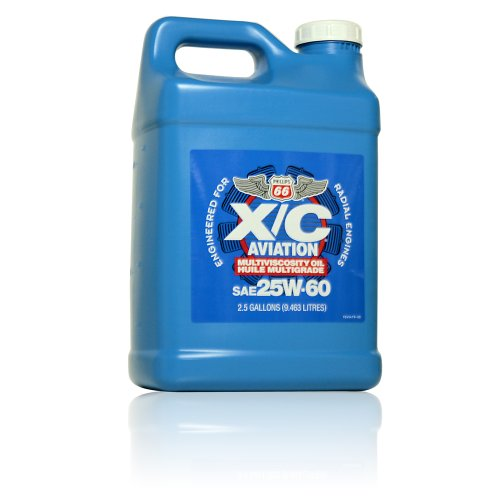 Phillips 66 X/C Aviation Oil 25w-60 Engine Oil - 2/2.5 gal. case