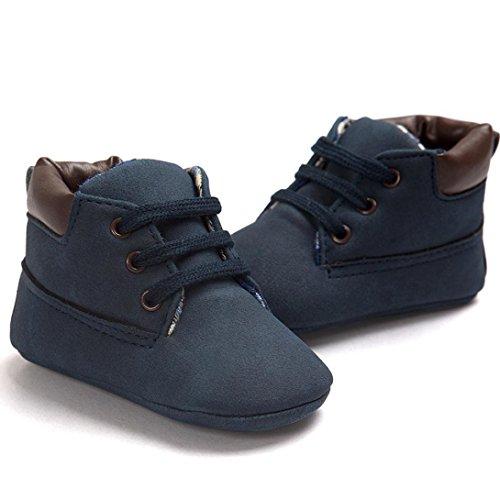 Tefamore Baby Kleinkind weiche Sohle Leder Schuhe Baby Boy Girl Schuhe