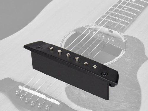 Acoustic Guitar Soundhole Pickup - Single Coil & Adjustable Poles - Endpin Jack (SHP-130-EPJ)