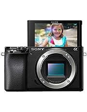 Sony A6100 Body [kit box] Mirrorless Digital Camera - Wi-Fi Enabled, International version - No Warranty (Black)