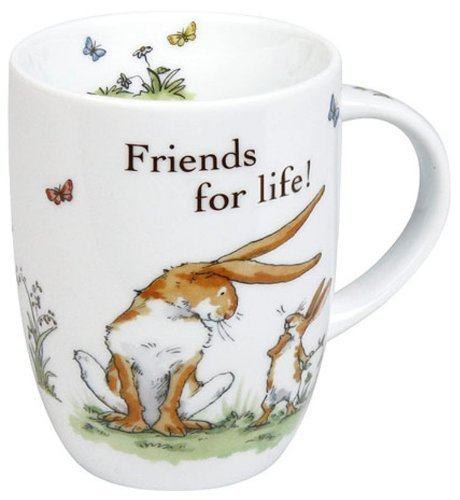 Konitz 12-Ounce Friends For Life Mugs, Giftboxed, Set of 4 by Konitz