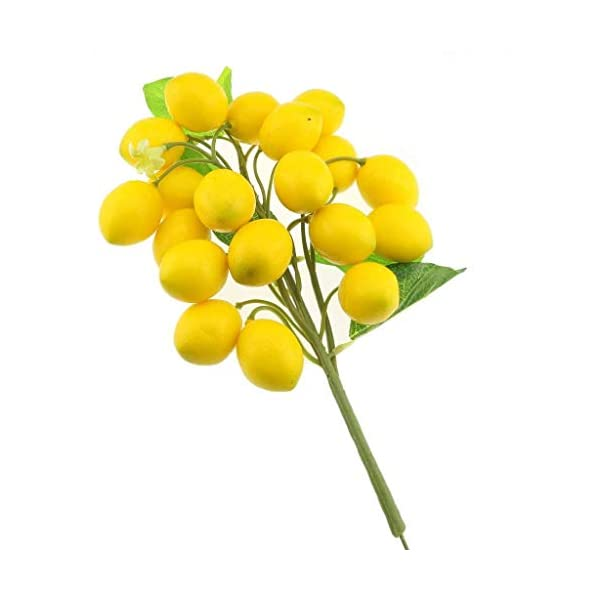 Gresorth-Fake-Fruit-Bunch-Decoration-Artificial-Lemon-Lifelike-Food-Home-Kitchen-Shop-Party-Christmas-Display