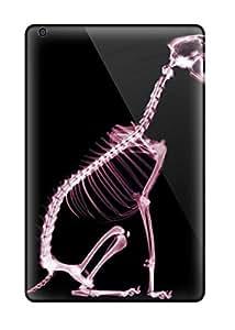 Durable Defender Case For Ipad Mini/mini 2 Tpu Cover(skeleton Dog)