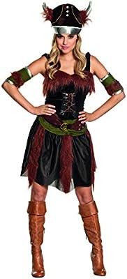 Desconocido Disfraz de vikingo para mujer: Amazon.es: Juguetes y ...