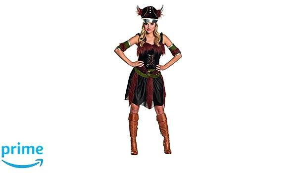 Boland - Disfraz de vikingo para mujer, talla 44 (87742): Amazon.es: Juguetes y juegos