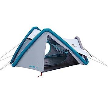 c4df23946 QUECHUA tenda da campeggio Air Seconds XL Fresh   Black 8384158 per 2  persone in Bianco