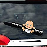 WiperTags Baby on Board Hanging Baby for Rear Wipers