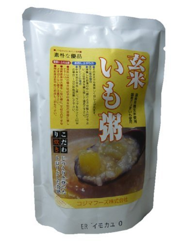 Kojima Foods organic brown rice porridge potatoes (200g) 20 Kekesu sale goods