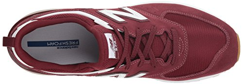 Rosso 574s Sneaker Balance Fcw classic white New Uomo Burgundy xAI15R