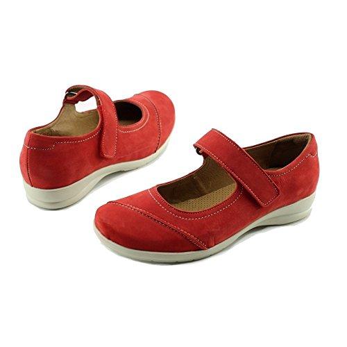 Chaussures Et Souple Rouge Swaso Babies Marque Flexible Velcro N Marque Babies 224912