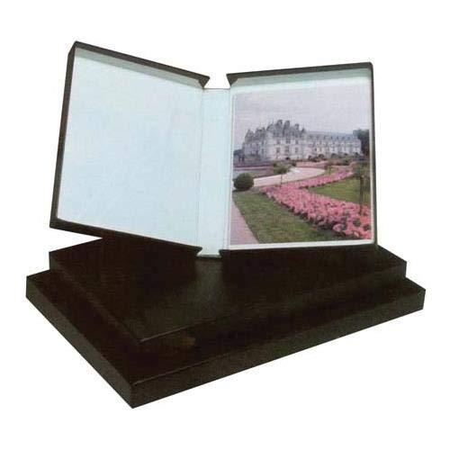 Printfile Black Clamshell Portfolio Box/Black Lining 16.25 X 20.25 X 4 - Printfile PBB16204 by Printfile (Image #1)