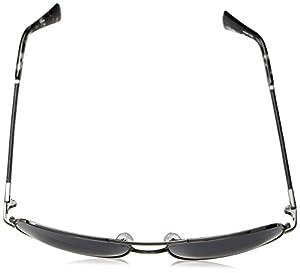 Cole Haan Men's Ch6001 Metal Navigator Aviator Sunglasses, 59 mm